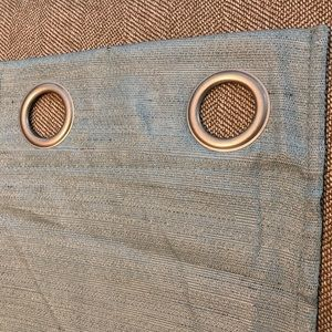 Accents - ❌SOLD❌Blue Grommet Style 4 Panel Blackout Curtains